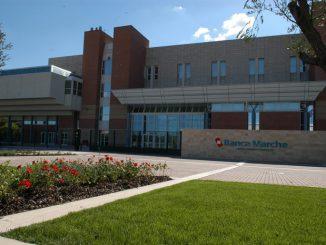 Banche: Centro direzionale Fontedamo Jesi, sede direzione generale Banca Marche