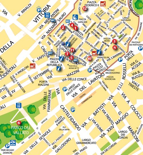 Cartina Jesi.Palio Di San Floriano Elenco E Menu Delle Taverne Password Magazine