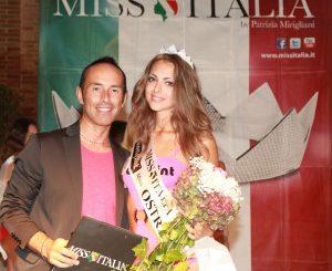 marco-presentatore-e-Giulia-Carnevali-Miss-Marche-2014-300×286