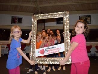 Uno dei progetti -Teatroingioco – per bambini a La Fornace