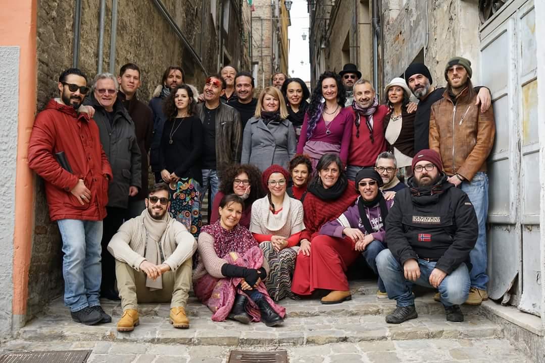Gli artisti di Piazza Nova