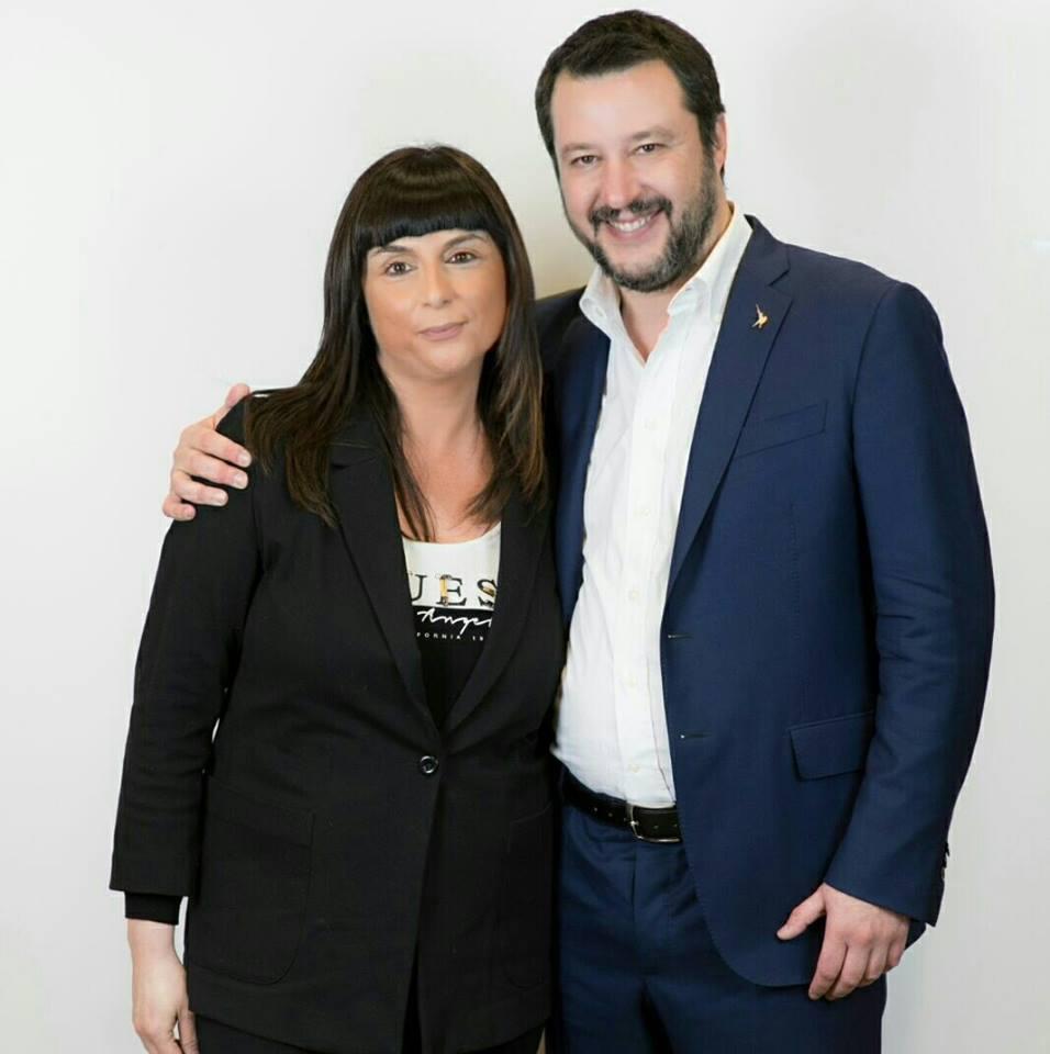 Silvia Gregori_Matteo Salvini
