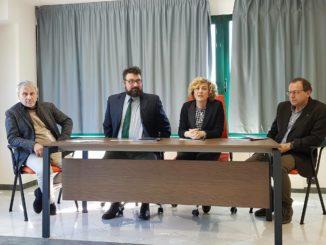 Da sinistra, i dottori Gaetano Barba, Luigi Galatello, Cecilia Possenti, Andrea Avitabile