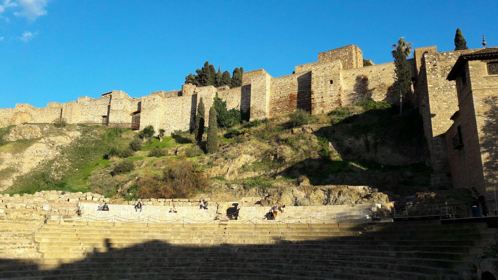 Alcazaba e teatro romano