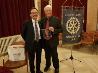 Da sx il presidente Iencinella con il prof. Baietti