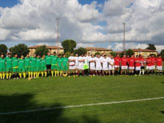 le tre squadre schierate torneo 2018