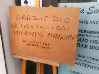 Cartello Bacci Marchionne