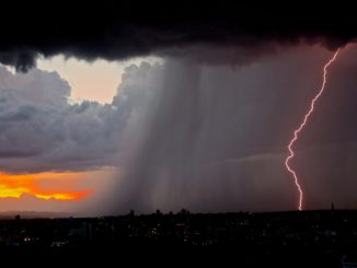 pioggia temporali (archivio)