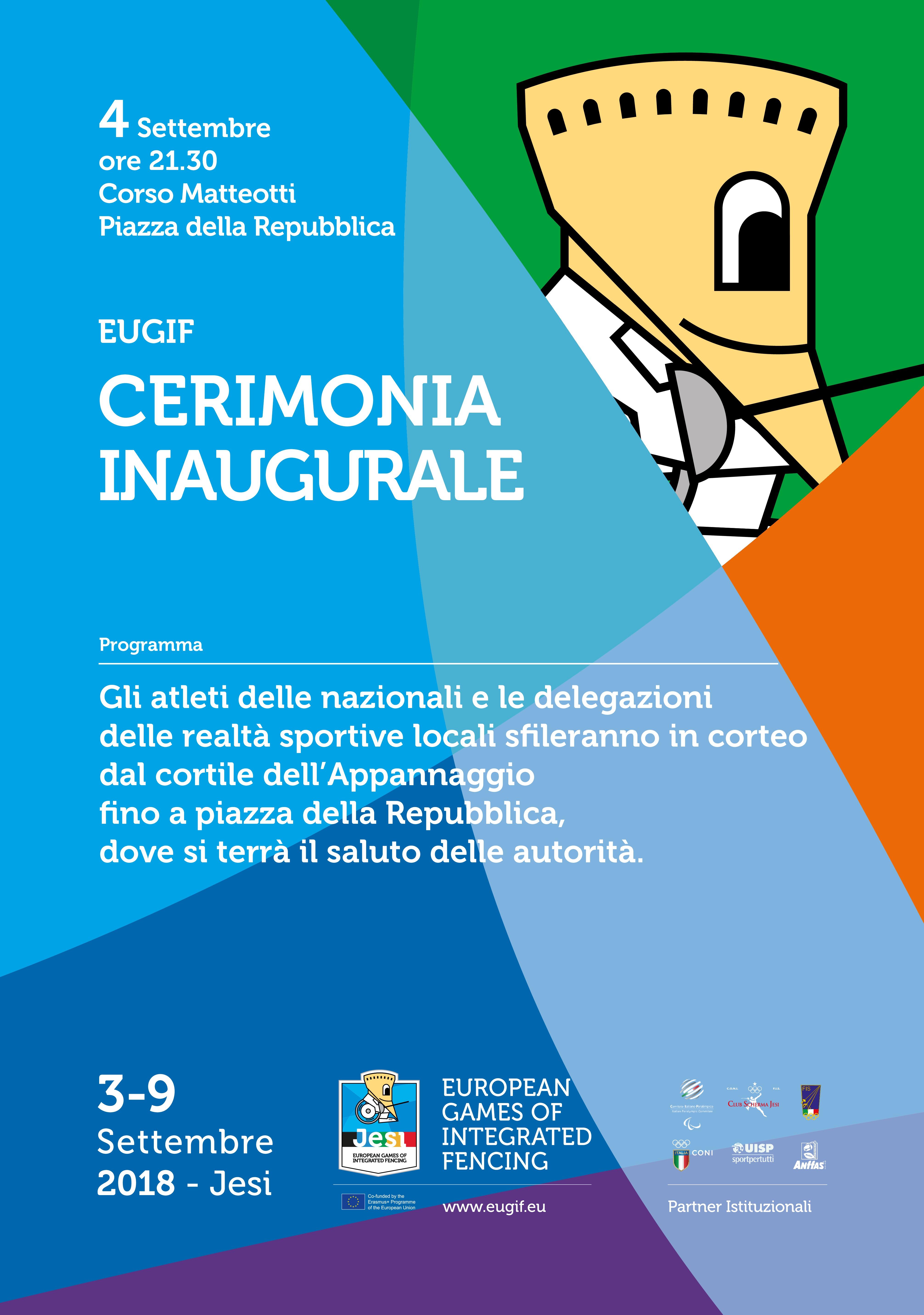 EUGIF inaugurazione