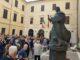 inaugurazione statua