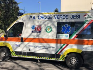 croce verde incidente