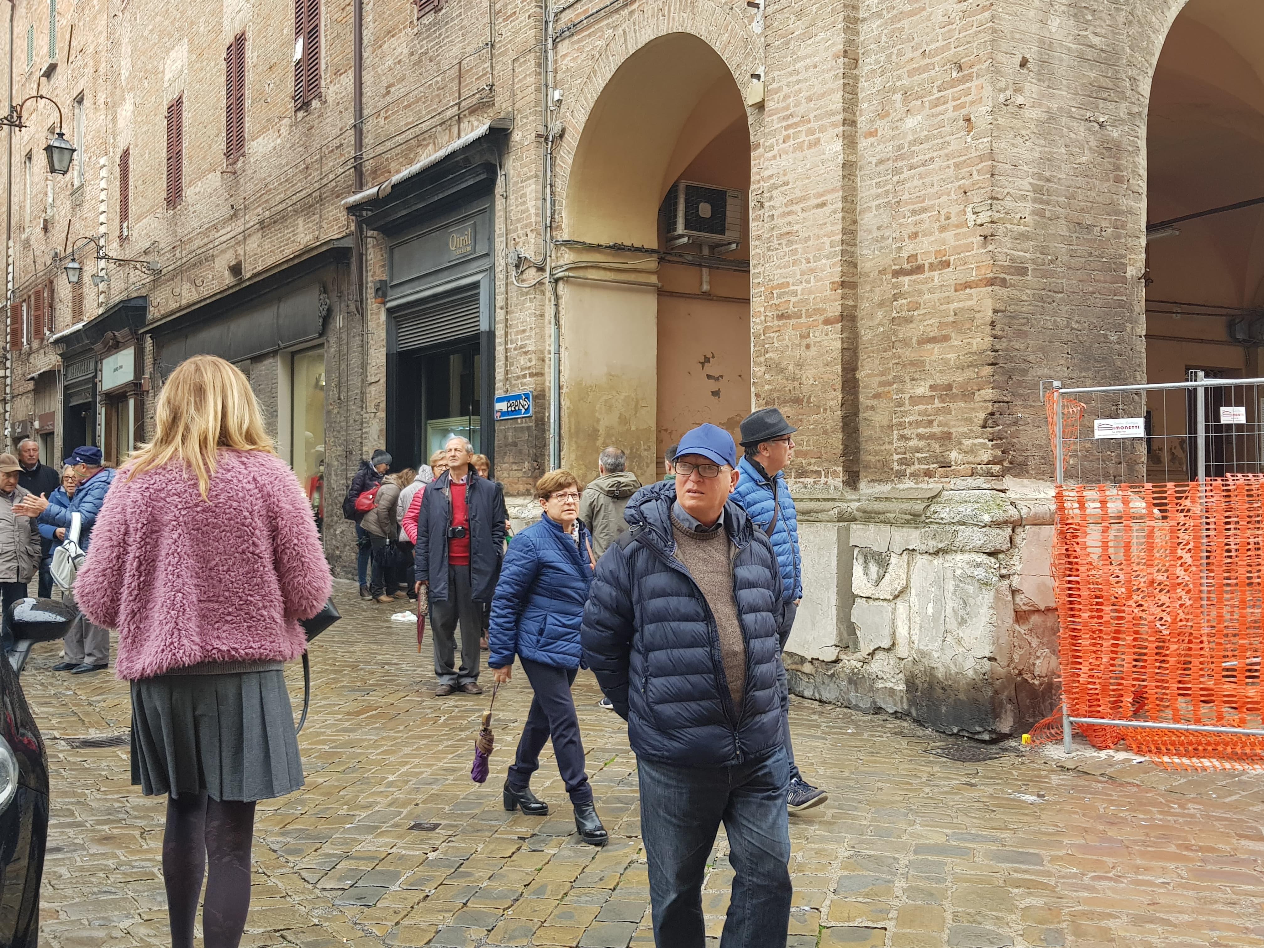 visitatori in città