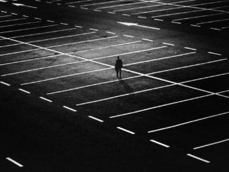 parcheggio buio