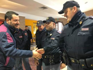 salvini polizia