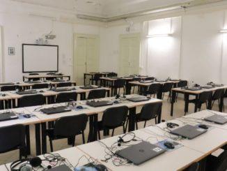 Il laboratorio linguistico del liceo classico di Jesi