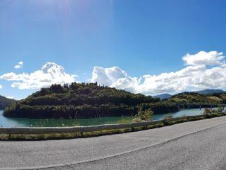 lago castreccioni diga