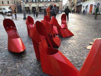 fidapa scarpe rosse
