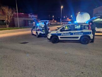 foto 1_controlli Covid-19 Polizia Provinciale di Ancona