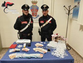 carabinieri Jesi, droga