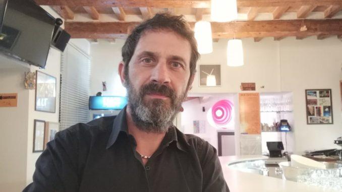 Marco Cesarini, titolare ristorante pizzeria Gatto Matto
