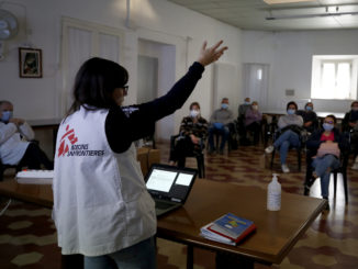 Intervention in Marche region