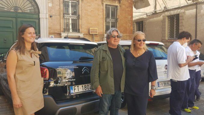 Maria Luisa Quaglieri con Stefano Antonucci