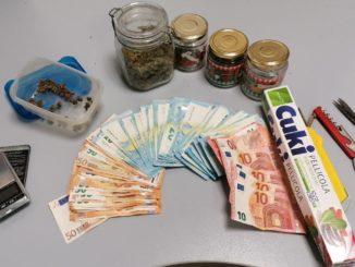 droga confiscata