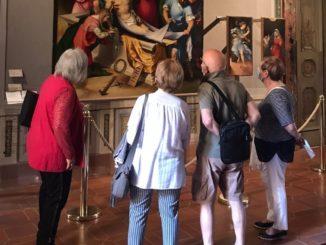 turisti musei pinacoteca