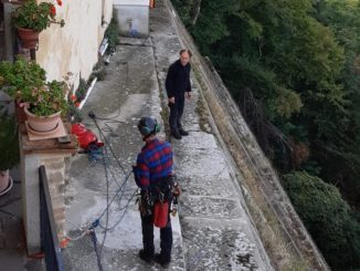 pulizia muraglione