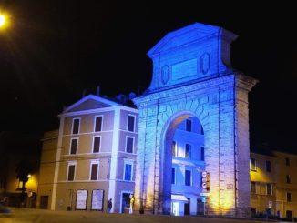 arco blu