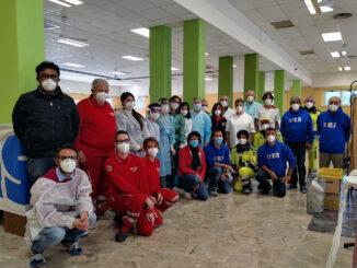 medici e volontari