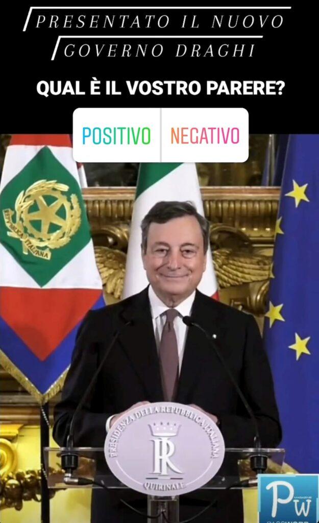 Governo Draghi Sondaggi