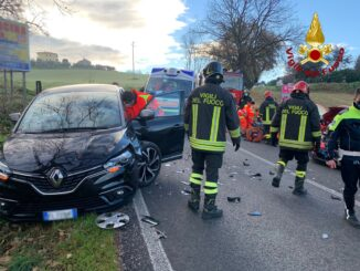Osimo Incidente stradale 1