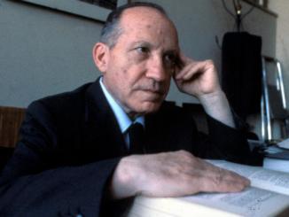 Il professor Federico Caffé