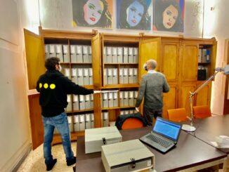 Archivio Moriconi 3 riordino