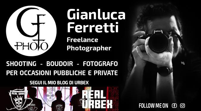 Banner Gianluca Ferretti Photographer