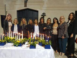 Cerimonia candele Fidapa 2021